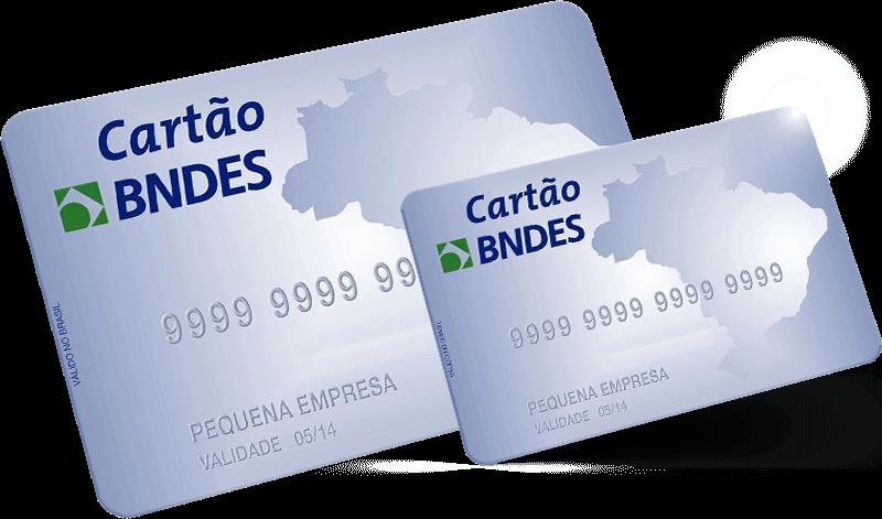 Imagem de cartões do BNDES