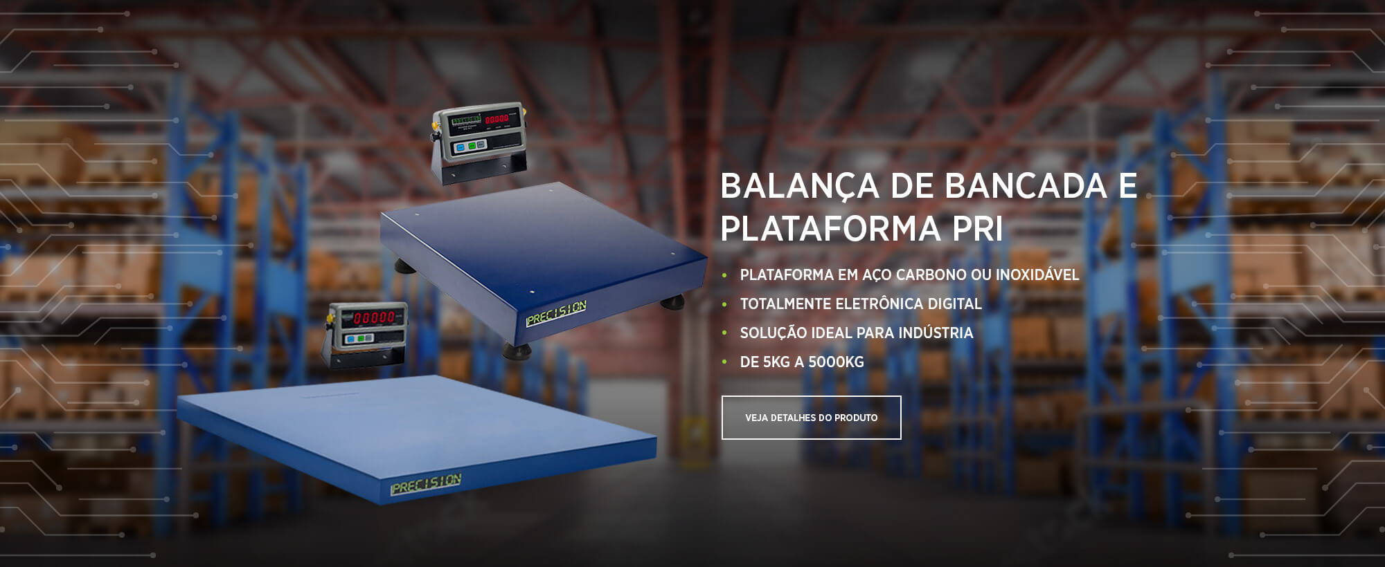 balança plataforma bancada